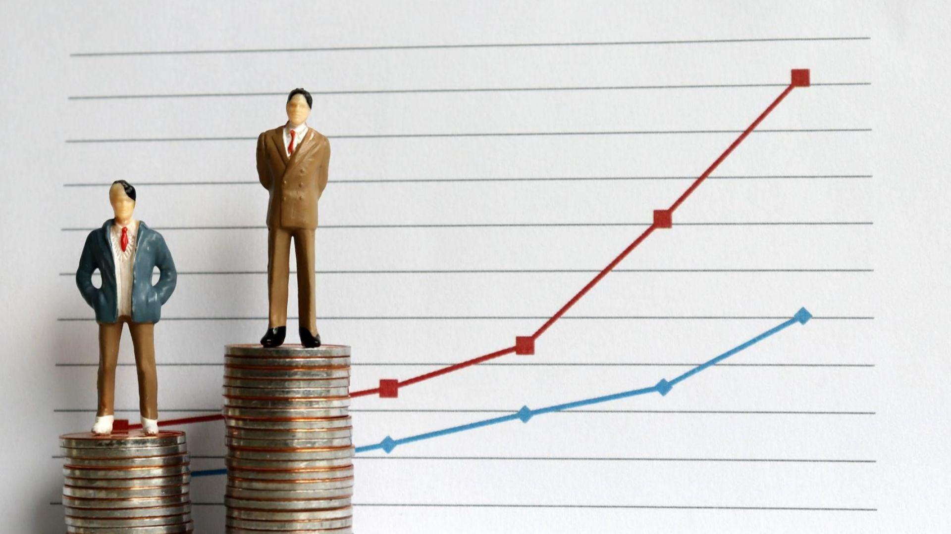 Разликата в доходите у нас и държавите в ЕС е от 140 до 950%