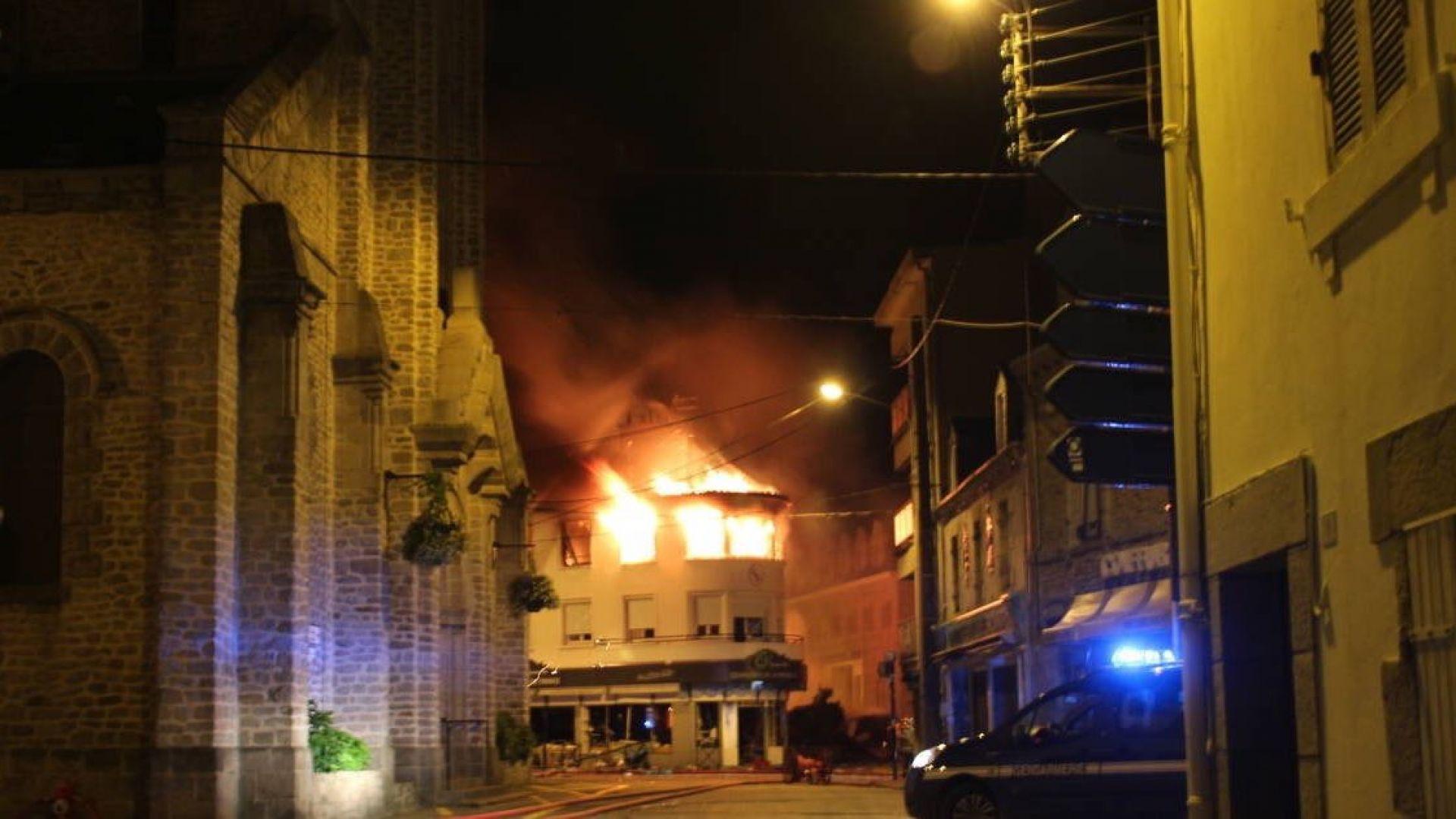 Експлозия рани десет души в Западна Франция