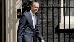 Британският министър за Брекзит подаде оставка