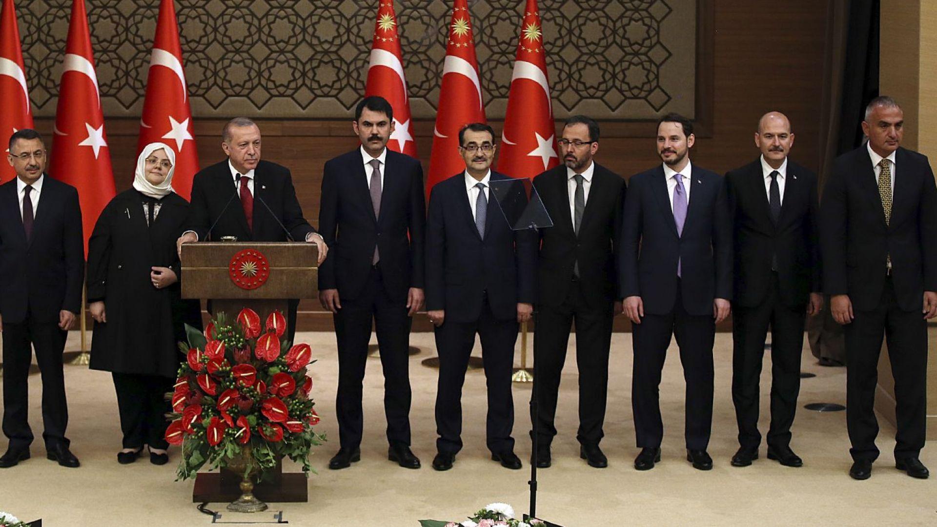 Ердоган повери най-важното министерство на своя зет