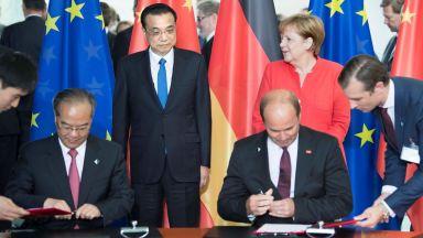 Китай и Германия сключиха сделки за 20 милиарда евро