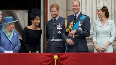 Катрин и Меган в модна надпревара на кралско събитие с Елизабет II
