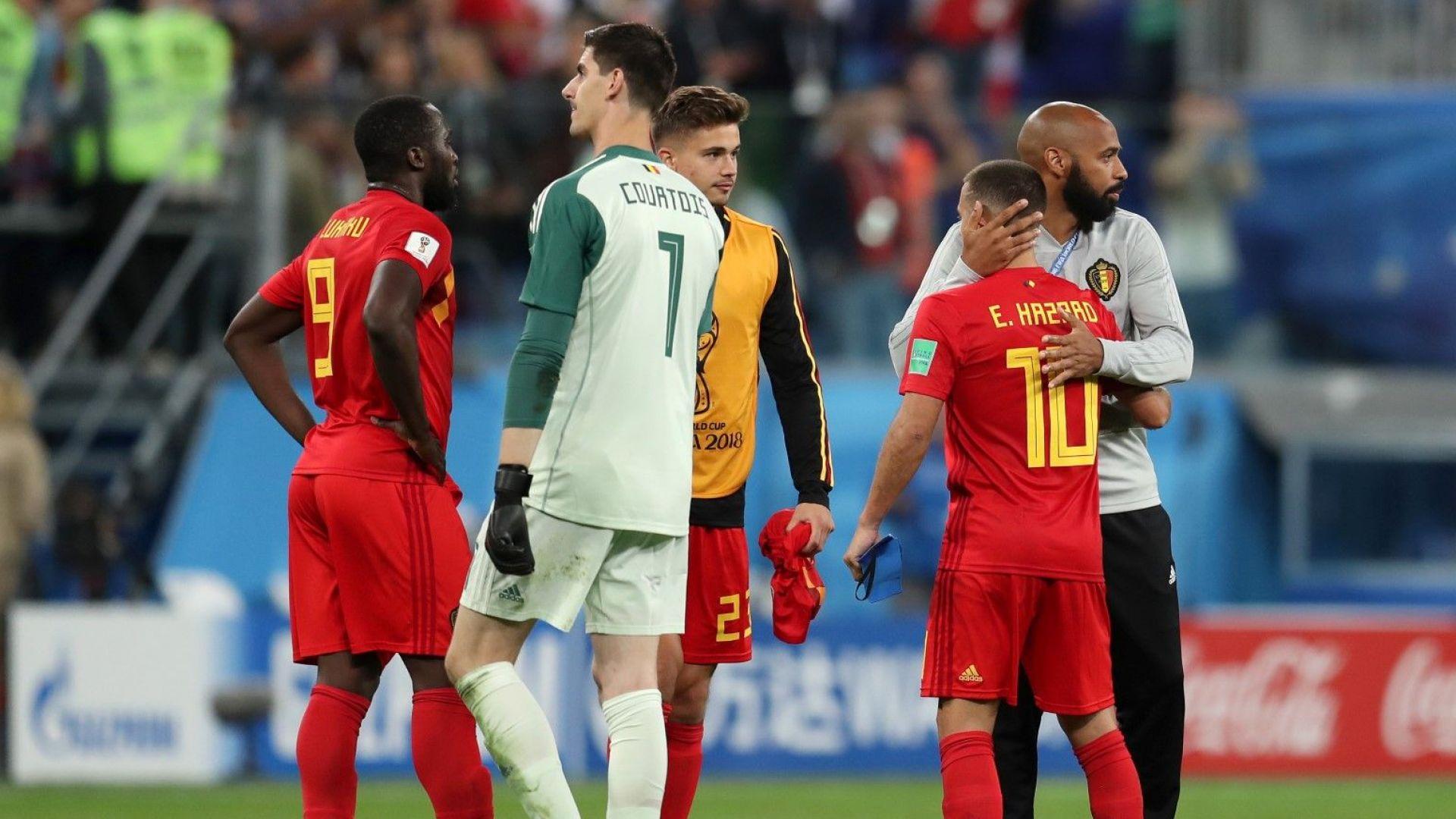 Белгийски звезди след загубата: Французите играха антифутбол