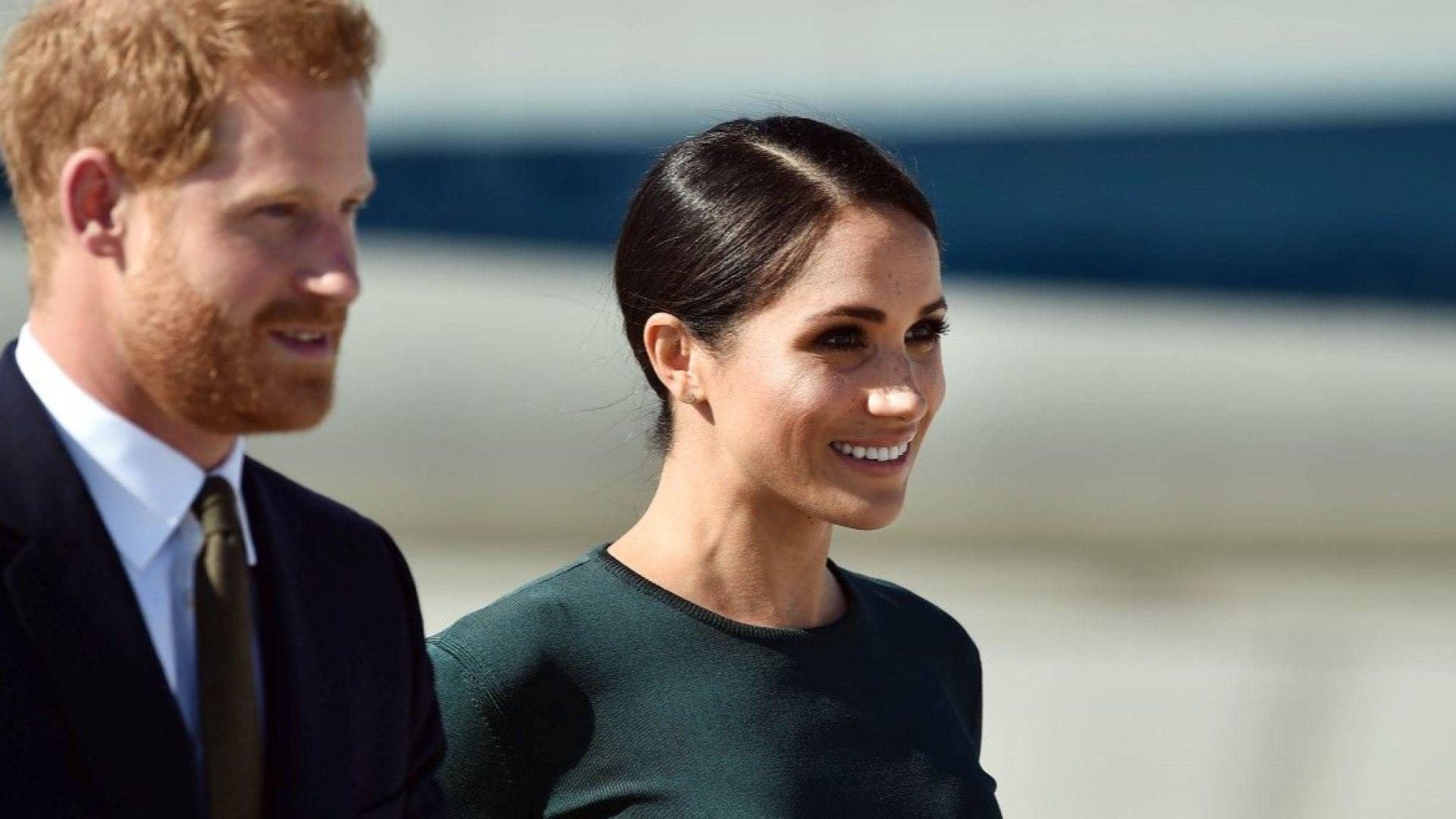 Херцогинята на Съсекс смени три тоалета за един ден (снимки)