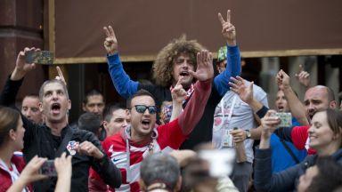 Хърватски търговци предлагат намаления в деня на мача с Англия