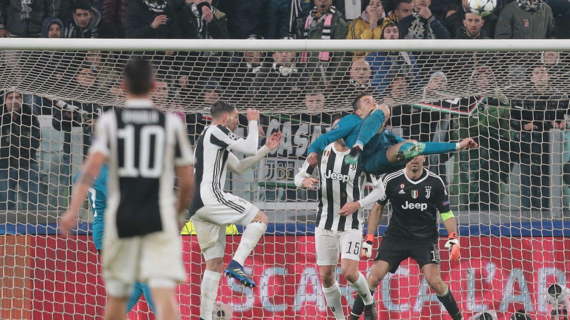 Ножицата на Роналдо е гол №1 на УЕФА