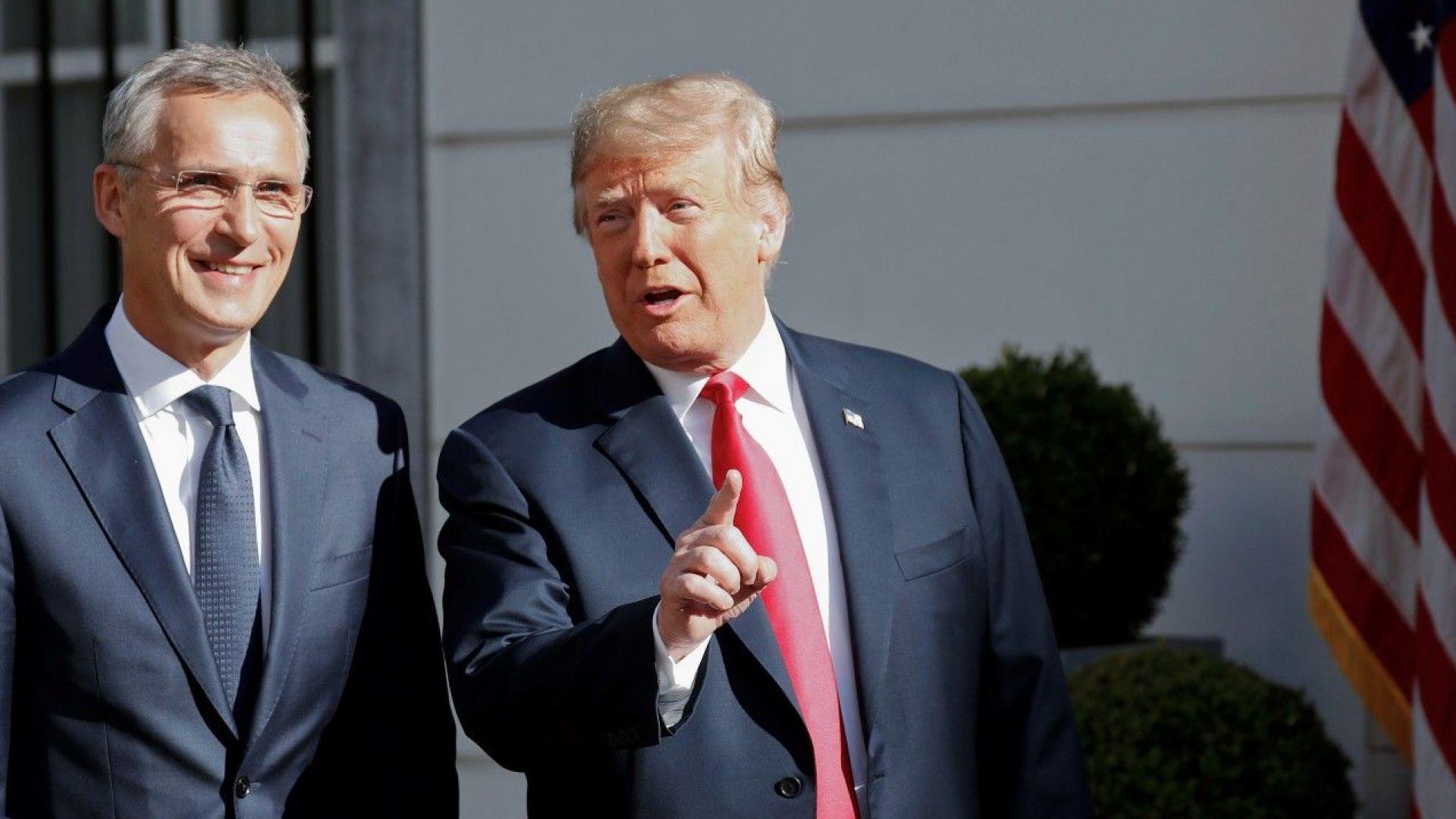 В НАТО едва сега проумяха накъде бие Тръмп