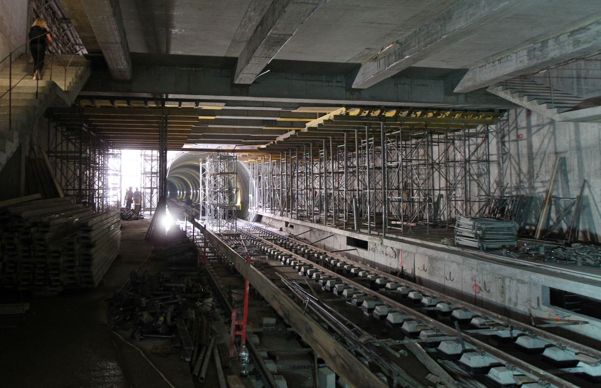 Новата метростанция на бул. България