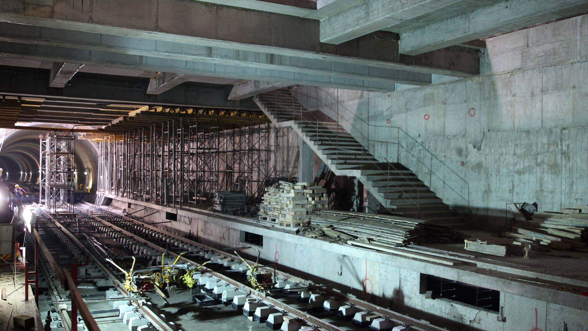 Кметска проверка: Докъде стигна трета линия на метрото