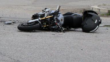 Състезател пострада по време на мотошоу в Лозница