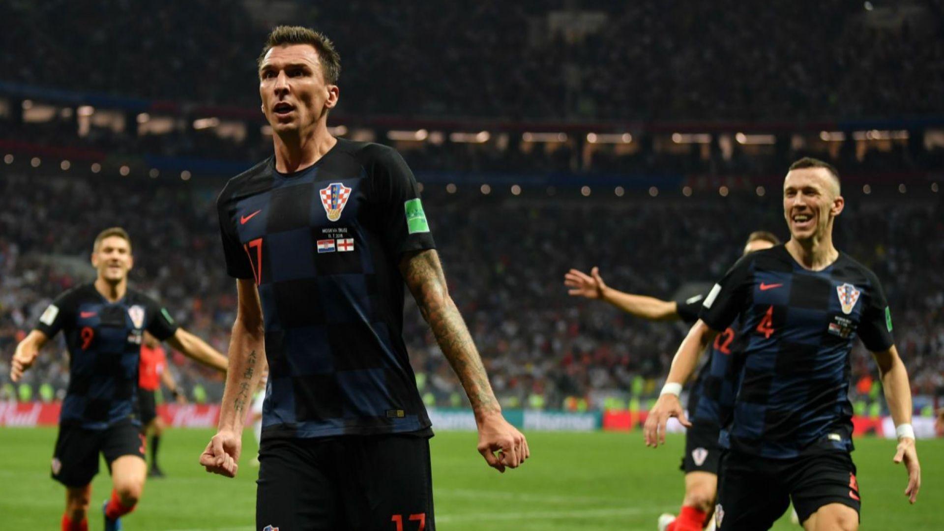 Хърватия на исторически финал след обрат над Англия