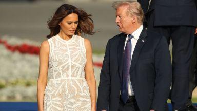 """Доналд и Мелания Тръмп с номинации за """"Златна малинка"""""""