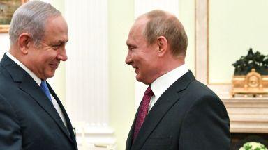 Нетаняху към Путин: Изведете иранците от Сирия
