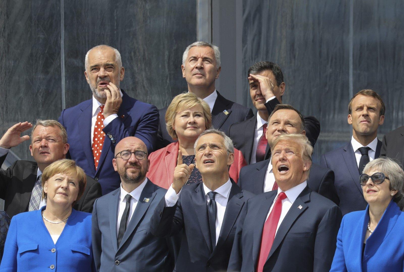 Лидерите се събират за обща снимка