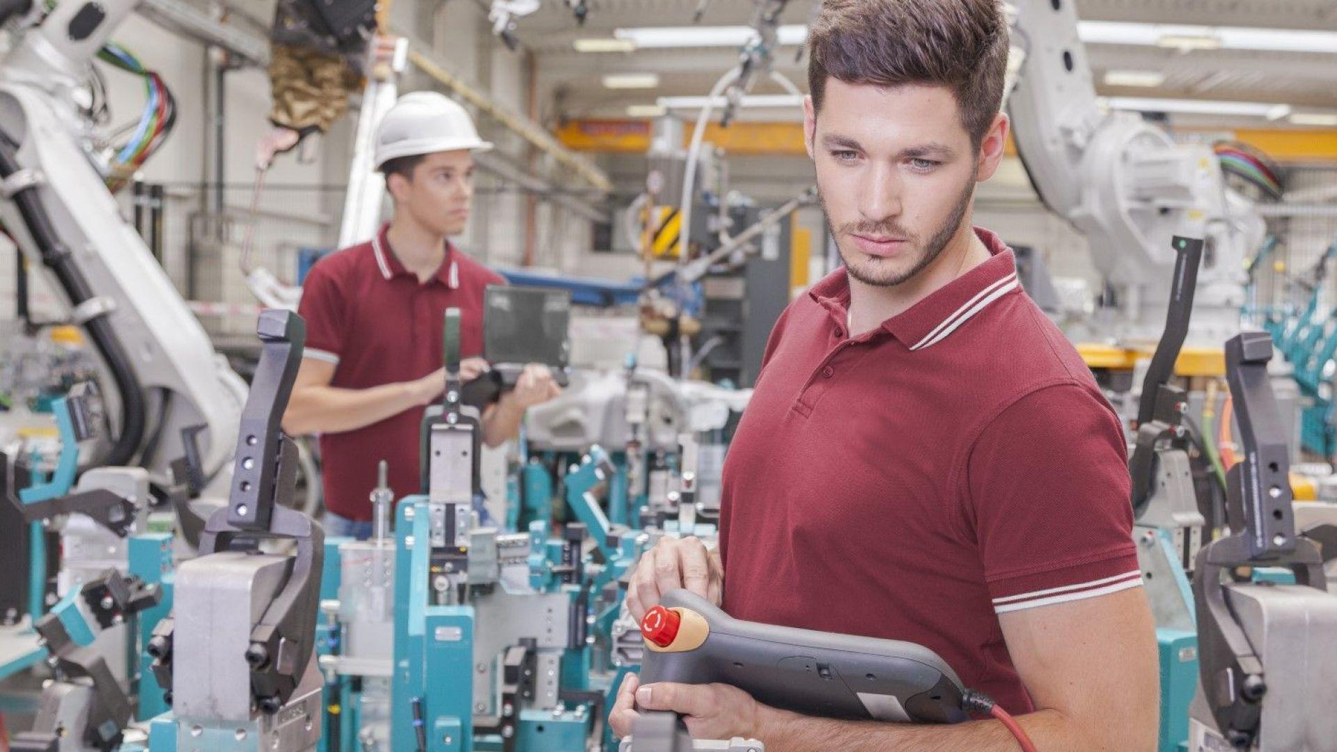 Индустрията в Българияс ръст като в ЕС, но по-нисък от еврозоната
