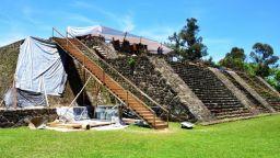 След земетресение в Мексико беше открит храм в пирамида
