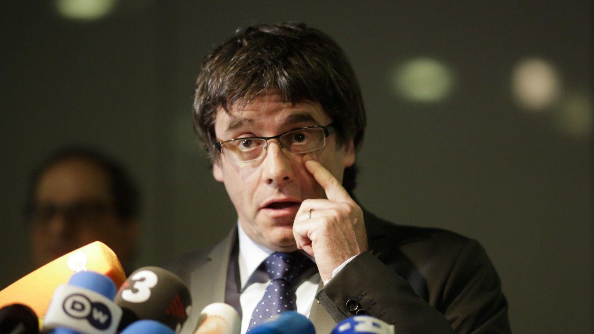 Пучдемон може да бъде екстрадиран в Испания, реши германски съд