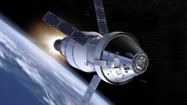 Нови тестове за лунния кораб на САЩ (снимки)