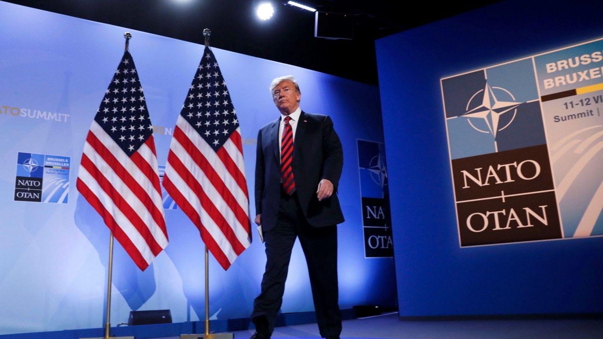 """Тръмп събра на извънредна среща лидерите на страните от НАТО и издейства """"невиждан"""" ръст на военните разходи"""