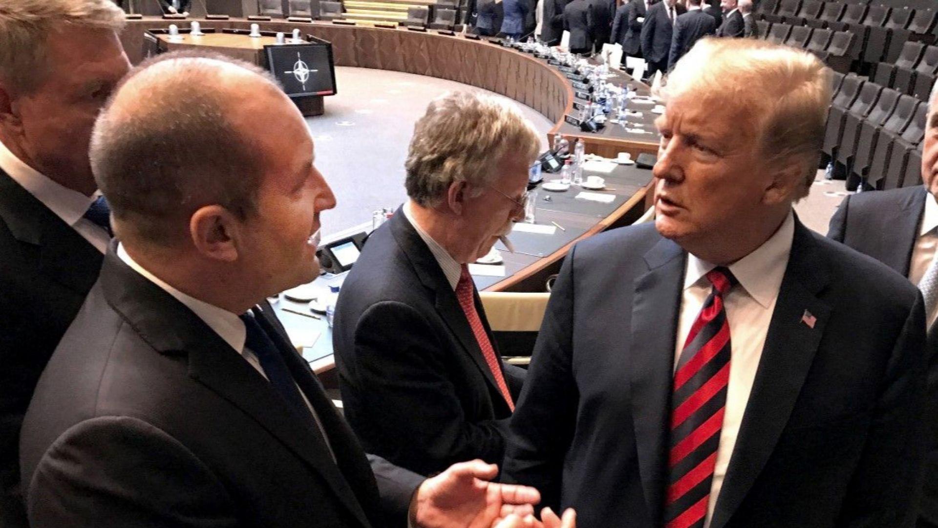 Румен Радев след срещата на върха на НАТО: Ще даваме 2% от БВП за отбрана
