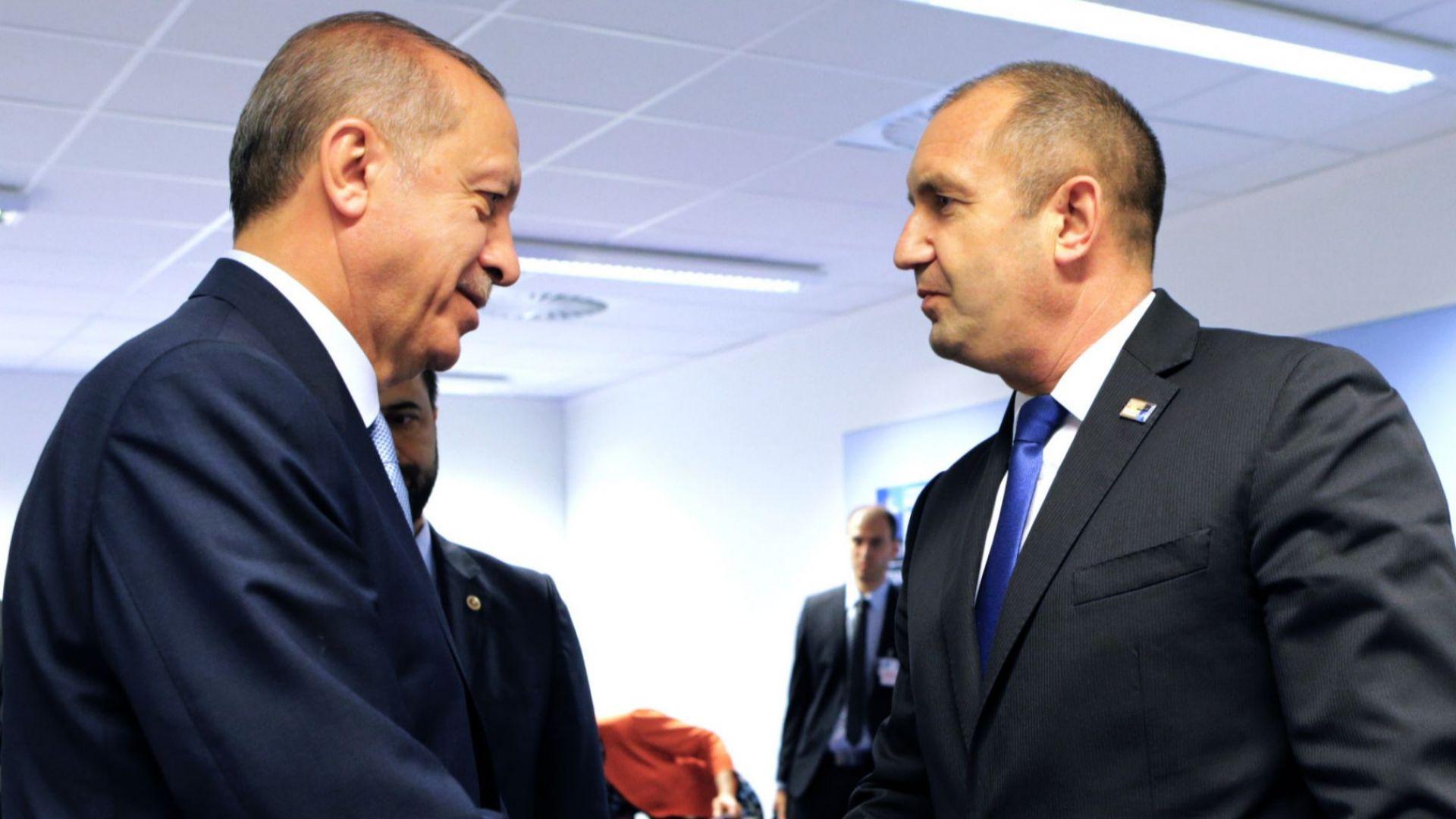 "Радев повдигнал пред Ердоган горещи въпроси: за компенсации, партии, ""Турски поток"""