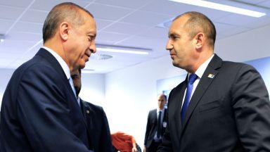 Радев повдигнал пред Ердоган горещи въпроси: за компенсации, партии,