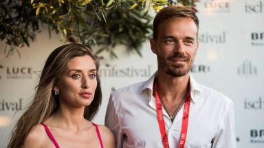 Ники Илиев и Саня Борисова заедно в Италия (снимки)