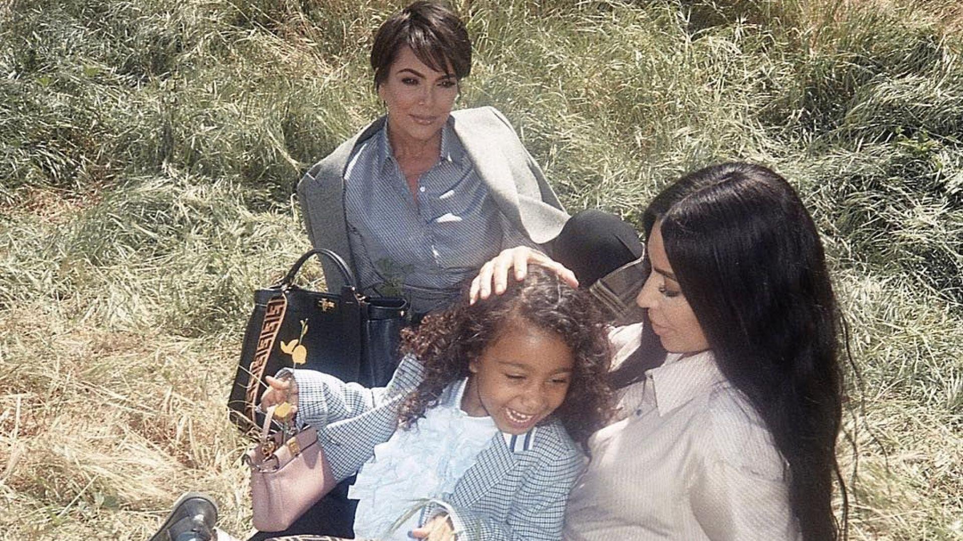 Дъщерята на Кардашиян и Уест дебютира като модел за Fendi