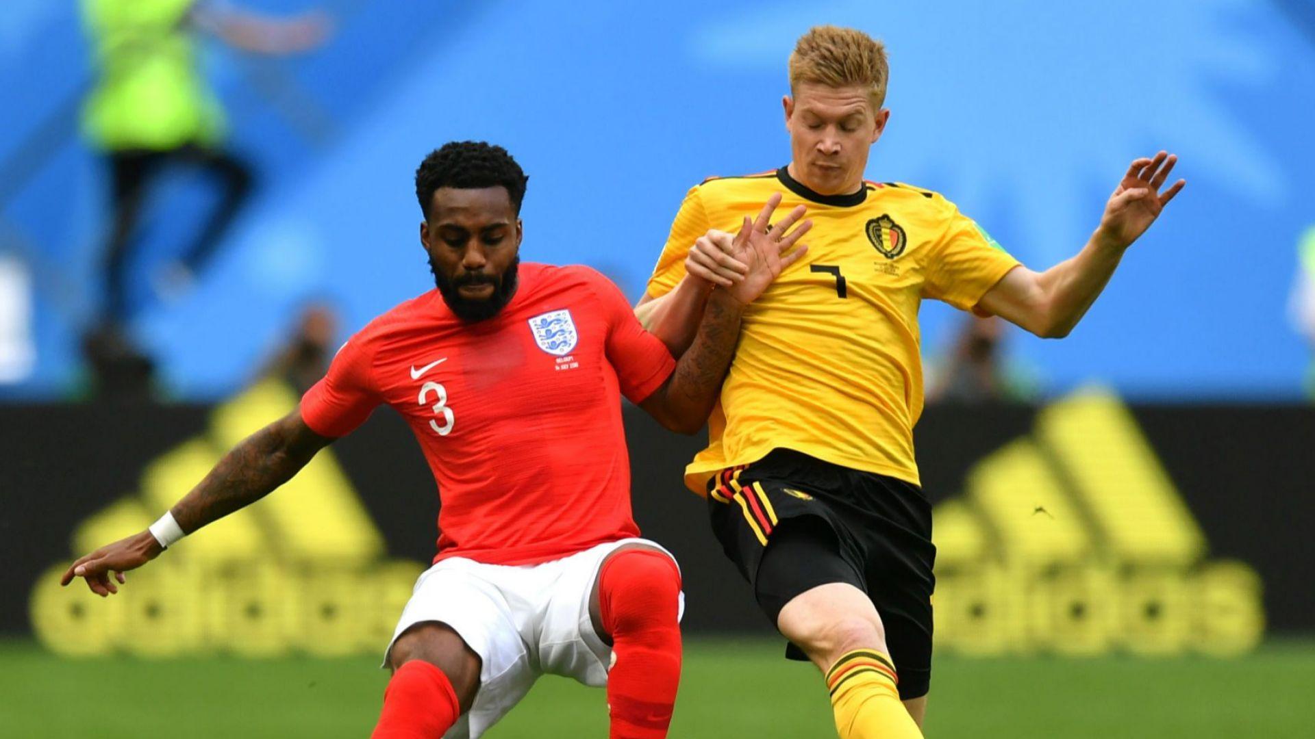 Белгия - Англия 2:0 (статистика)