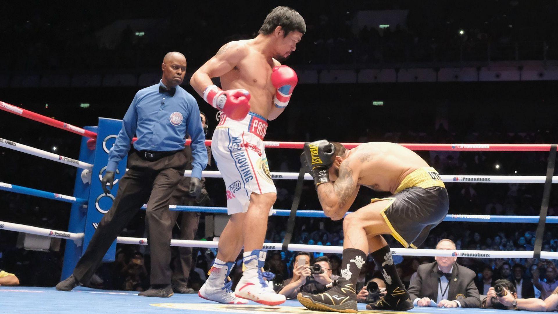 Големият Мани Пакиао взе нова титла с първи нокаут от 9 години