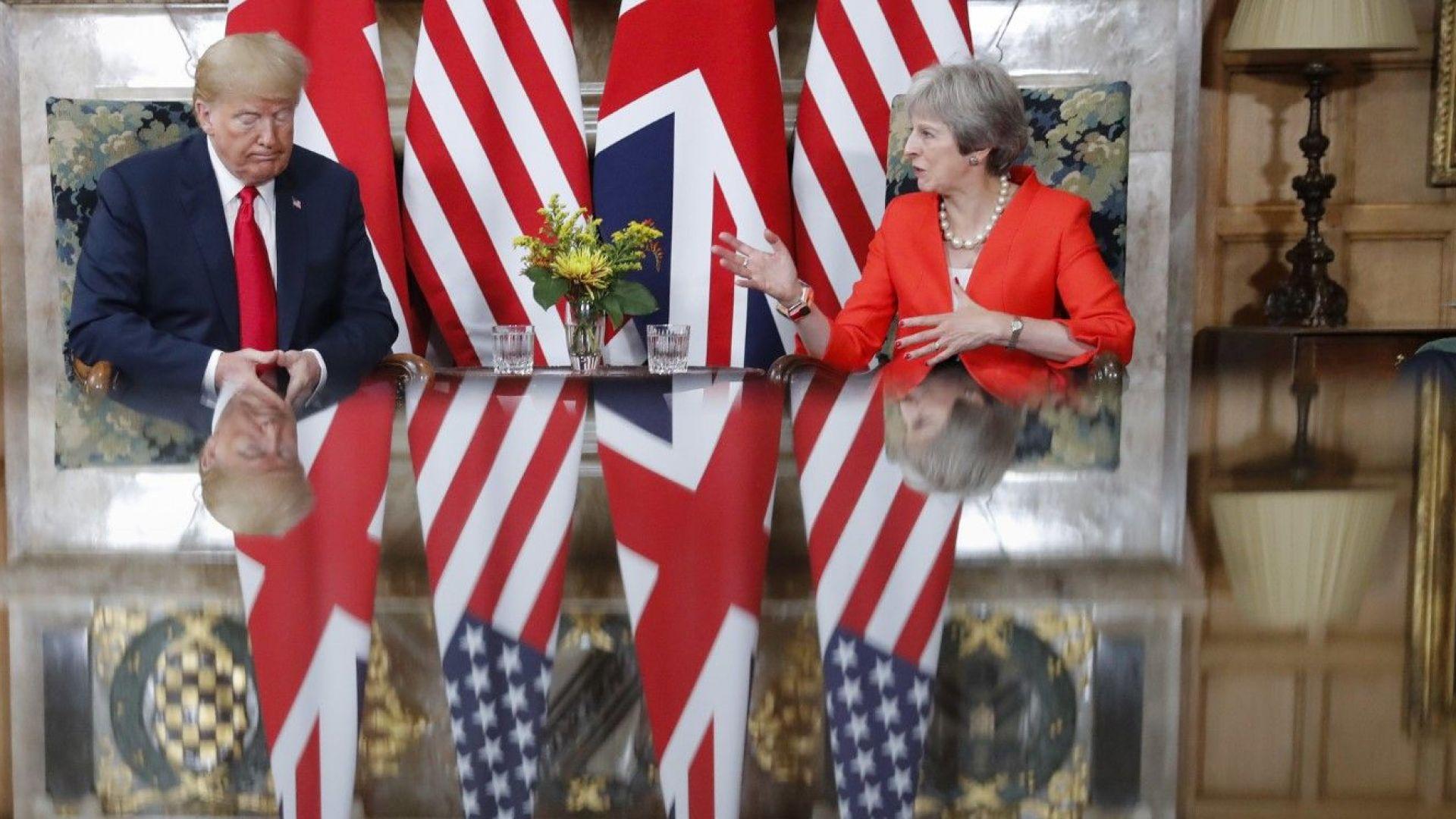 Тереза Мей: Тръмп ми каза да съдя ЕС заради Брекзит