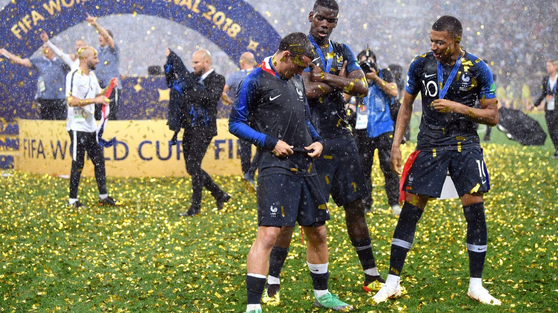 Франция оглави ранглистата на ФИФА, Германия се срина