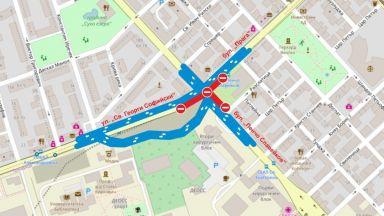 Затварят участък от столичен булевард заради строежа на метрото