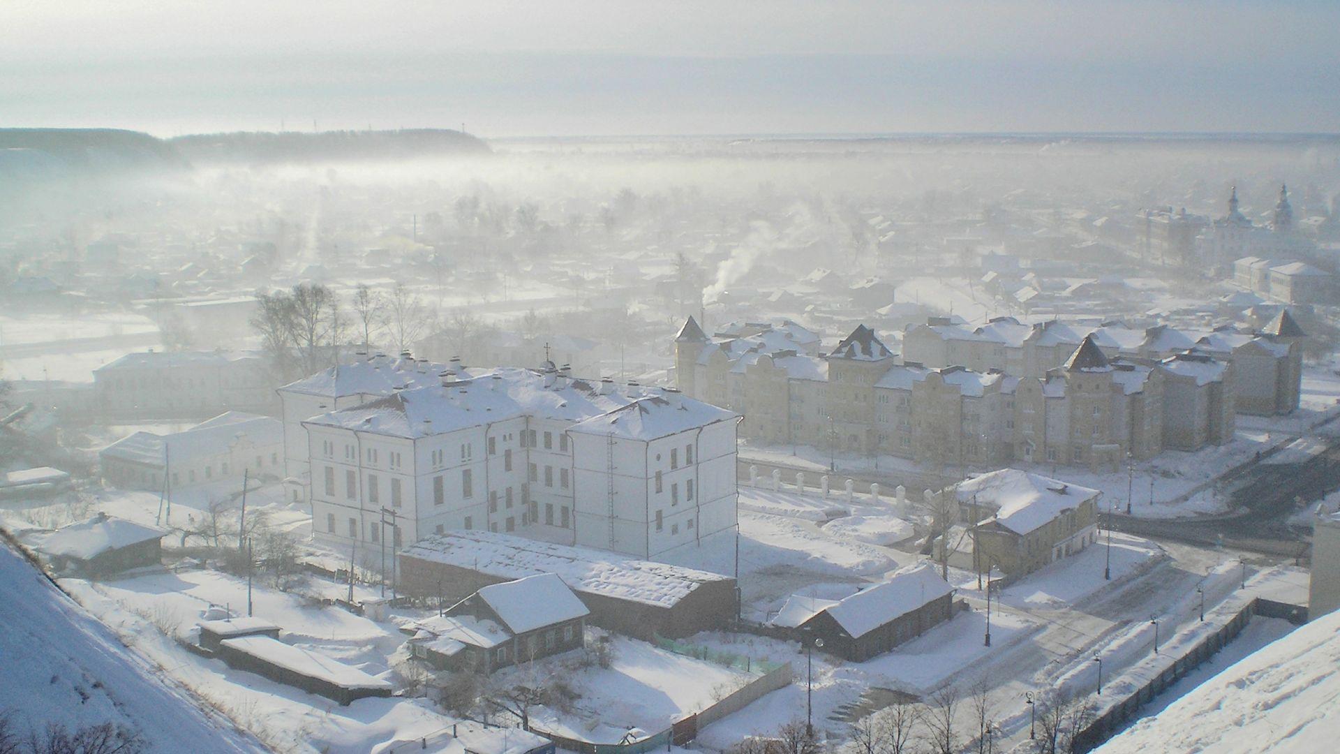 Сибир: топло на север, студове на юг
