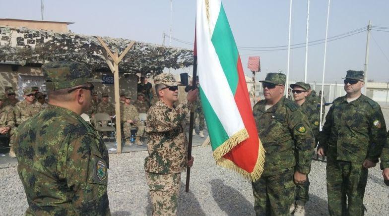 """Церемониията по сдаване и приемане на правомощия в мисията на НАТО """"Решителна подкрепа"""""""