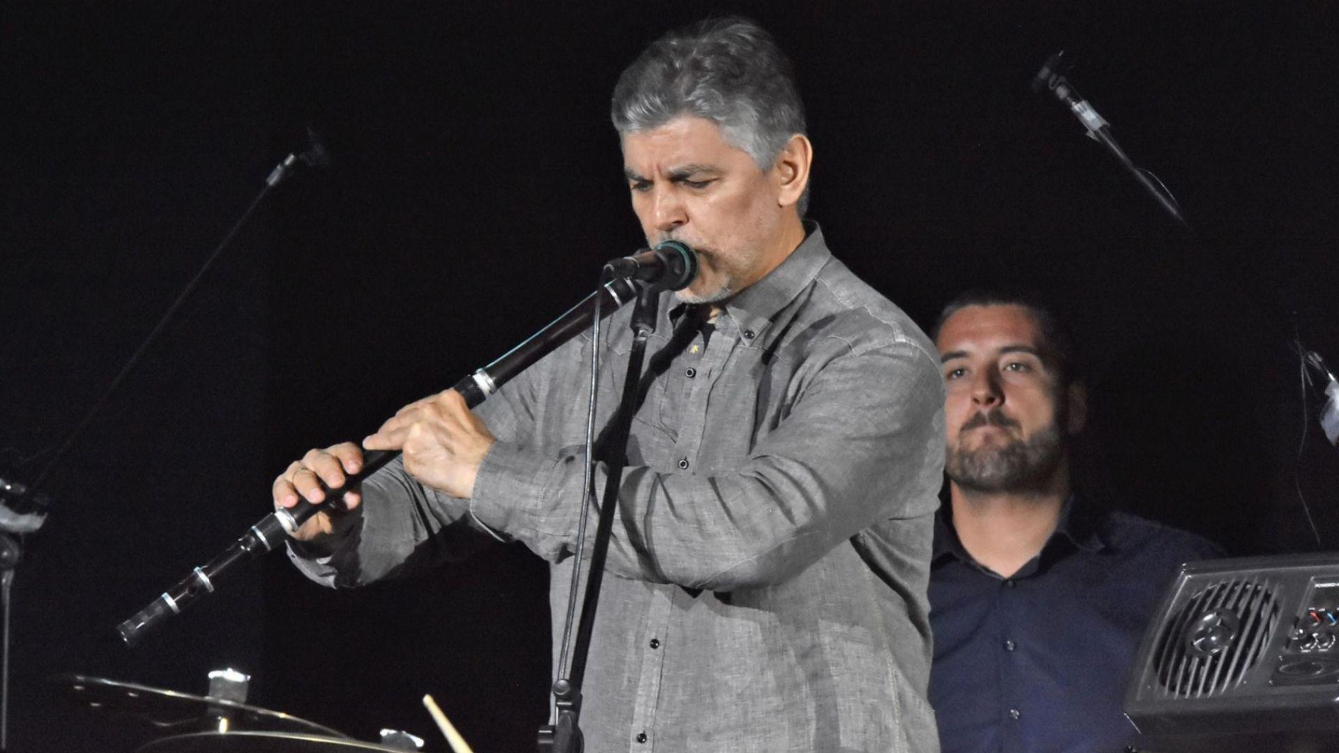Концерт на Теодосий Спасов в Русе на открито