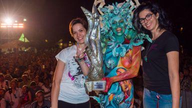 Вижте шокиращи рисунки от фестивала по бодипейнтинг в Австрия