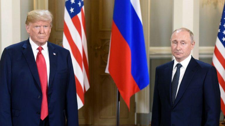 Срещата Тръмп - Путин в Хелзинки (снимки)
