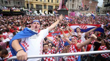 Загреб посрещна подобаващо своите шампиони (снимки и видео)