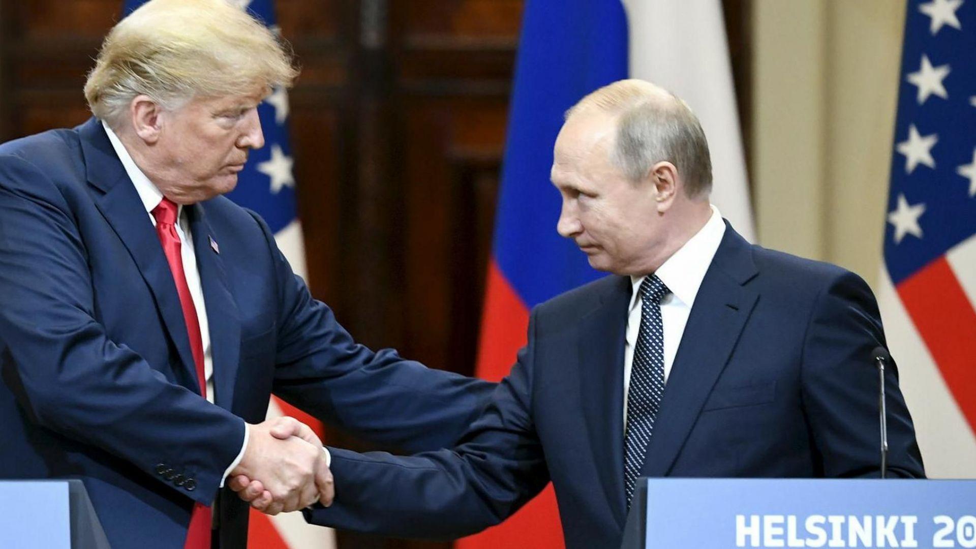 Тръмп: Никой президент не е бил по-твърд към Русия от мен