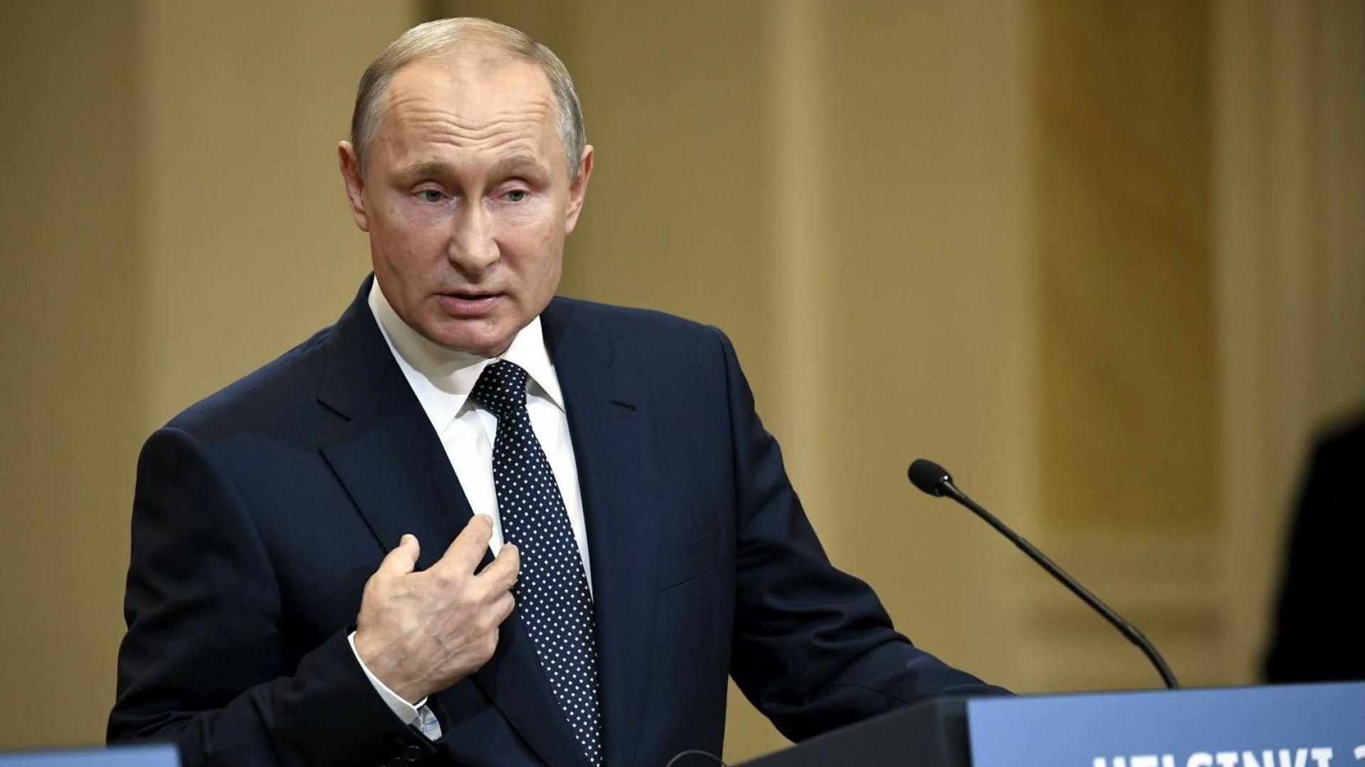 Путин: Нямаме компромат за Тръмп, той не ни бе интересен преди да стане президент