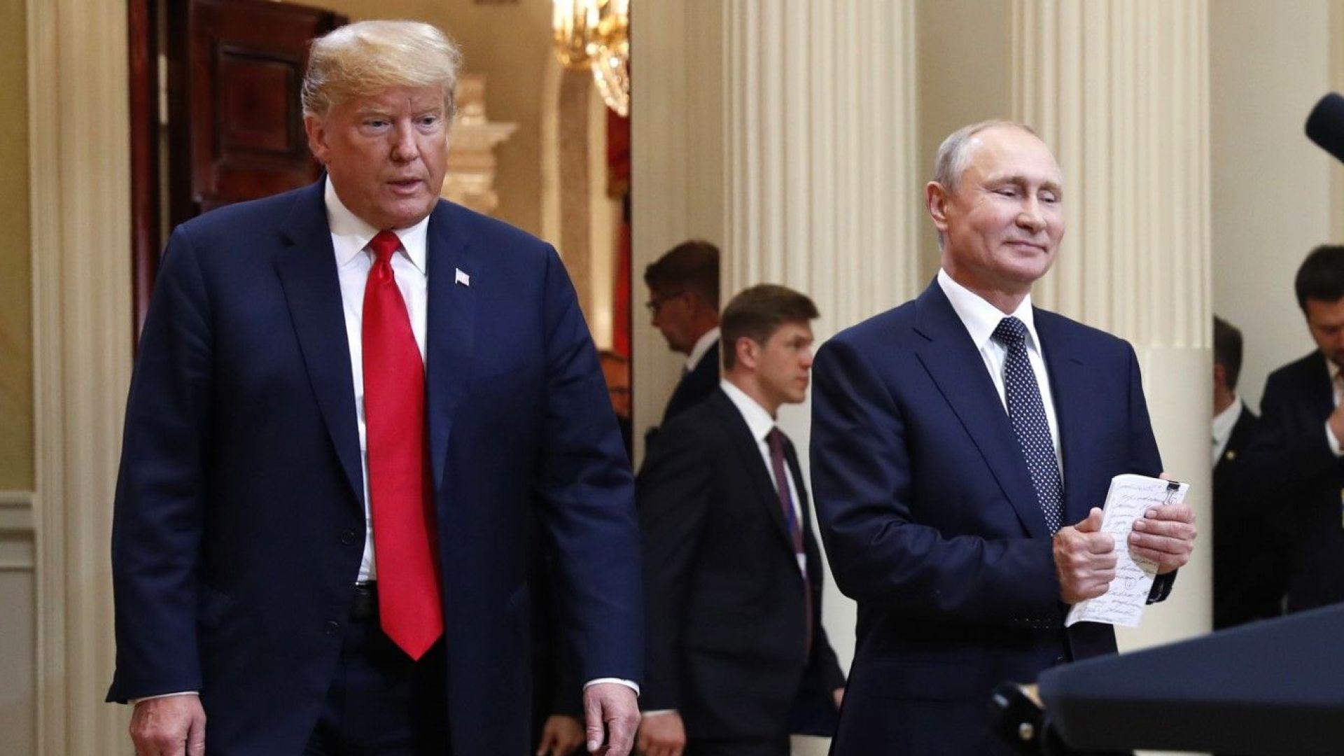 Доналд Тръмп: Не сте ме разбрали за Русия