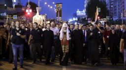 100 000 на кръстоносен поход в памет на последния руски император (галерия)