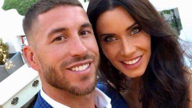 Серхио Рамос се сгоди за майката на трите си деца (снимки)