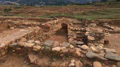 """Древното селище """"Скаптопара"""" преди да влязат багерите"""