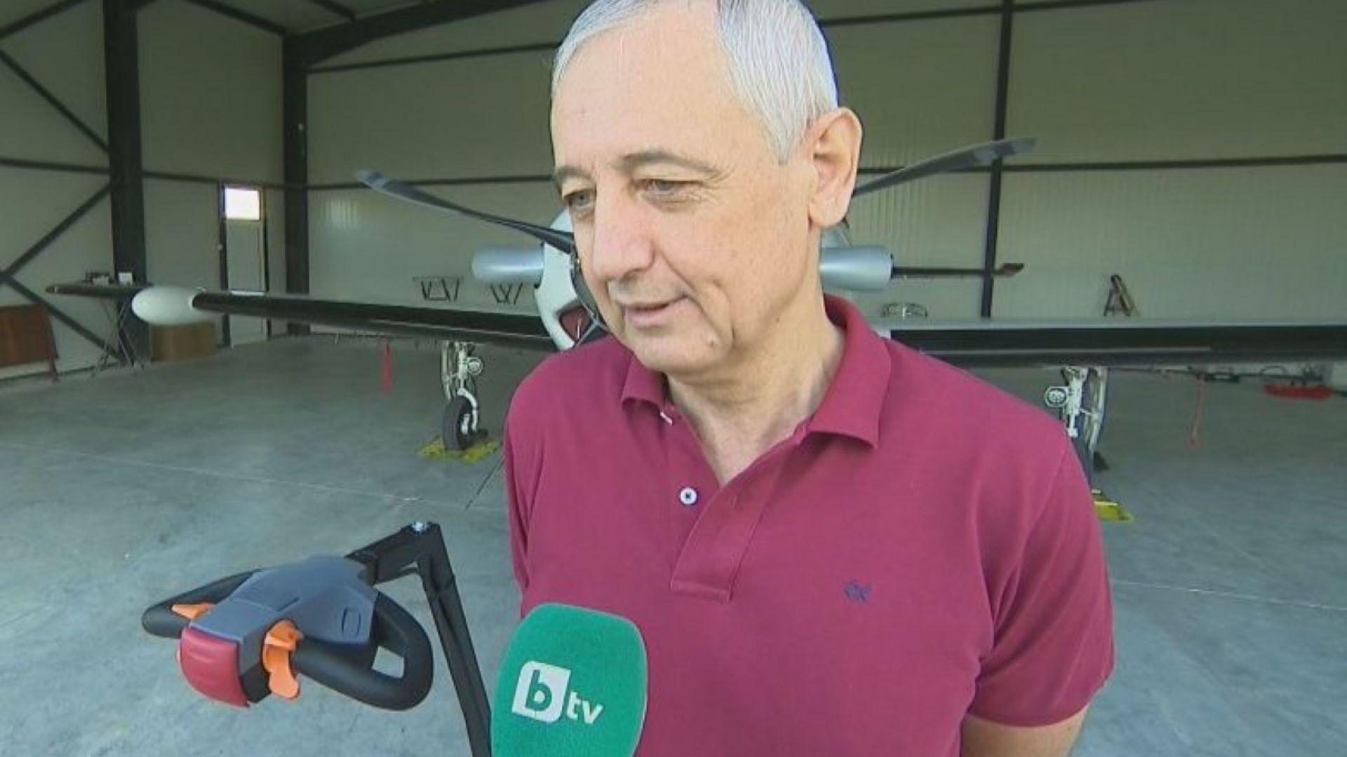 Бизнесменът Хинков, пилотирал непроверения самолет: Друг път не се е случвало!