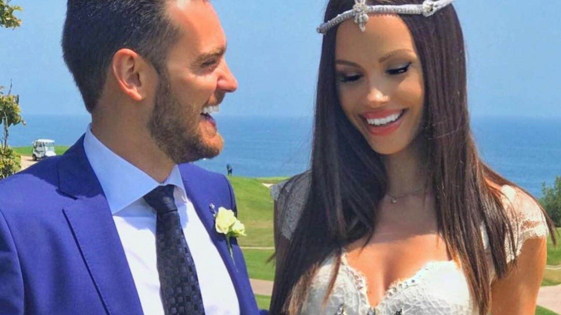 Теди Бурзалиева след 1 г. брак: Всеки ден с теб е благословия