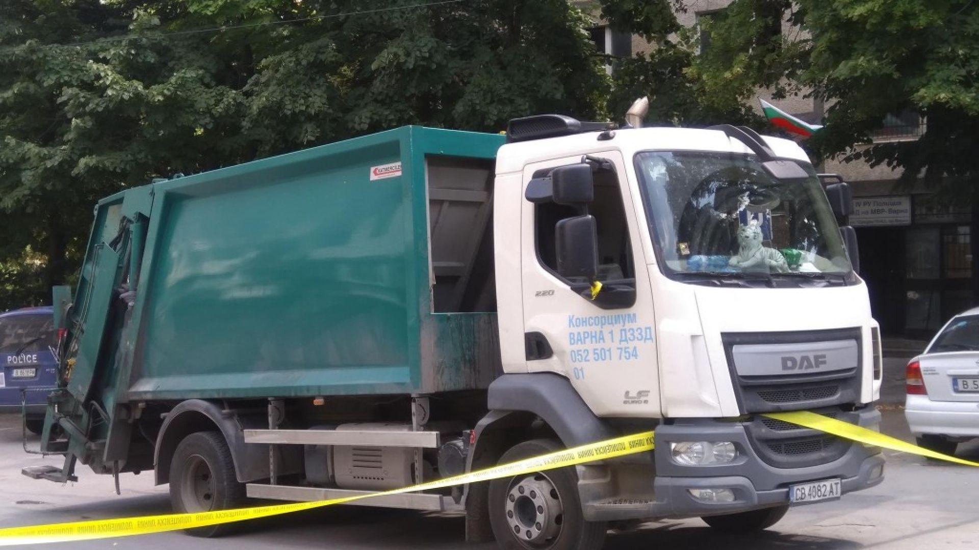 Боклукчийски камион блъсна и уби пешеходка във Варна