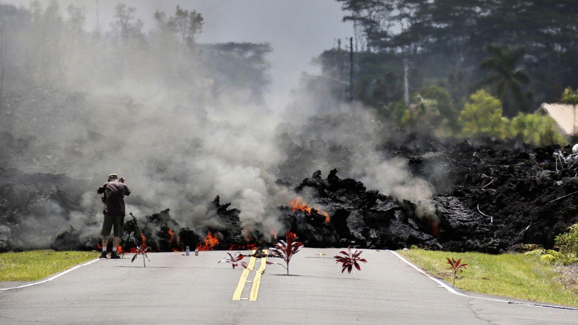 Външно министерство препоръчва да не се пътува в района на вулкана Килауеа