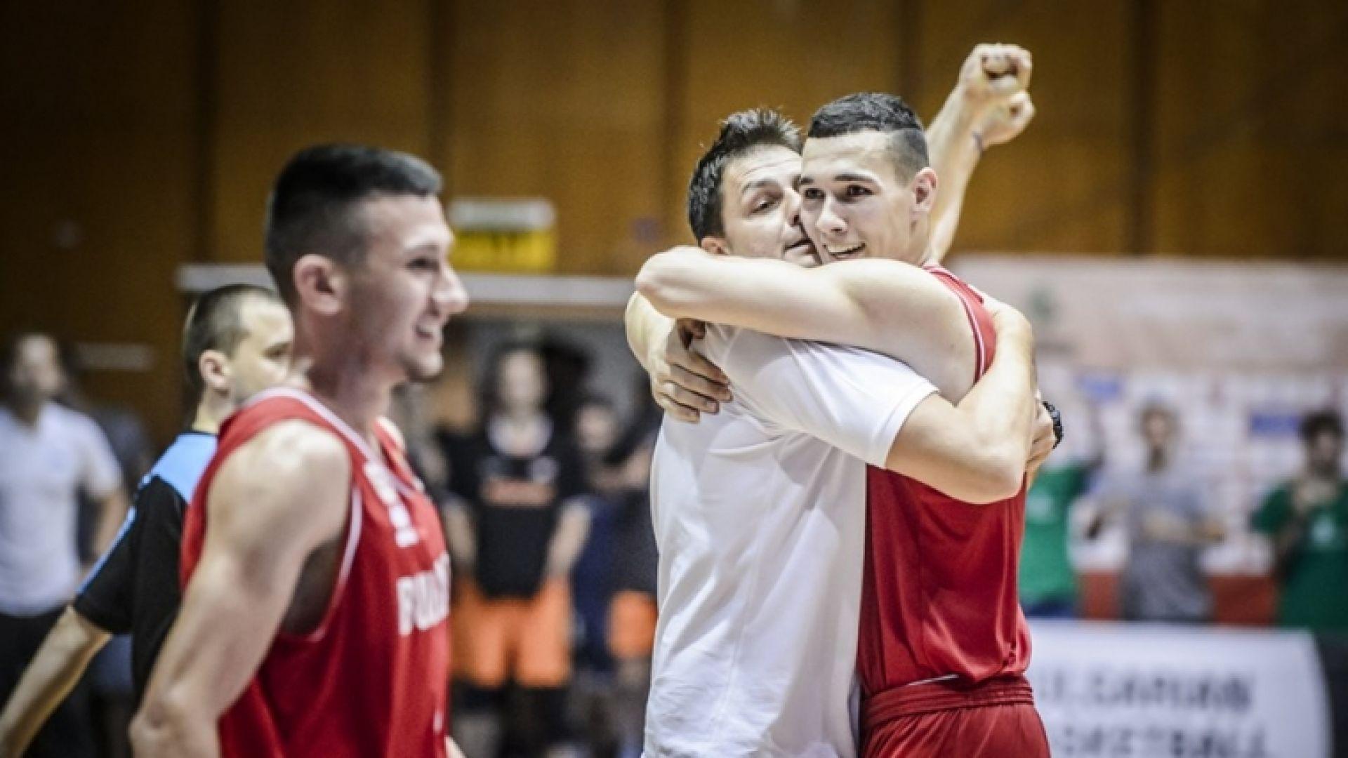 България се класира на четвъртфинал на Европейското за младежи